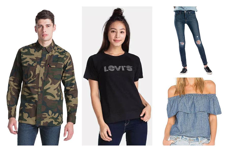 giảm giá thời trang Levi's
