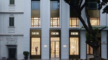 Thăm quan boutique Dior mới nhất tại Hà Nội qua ảnh