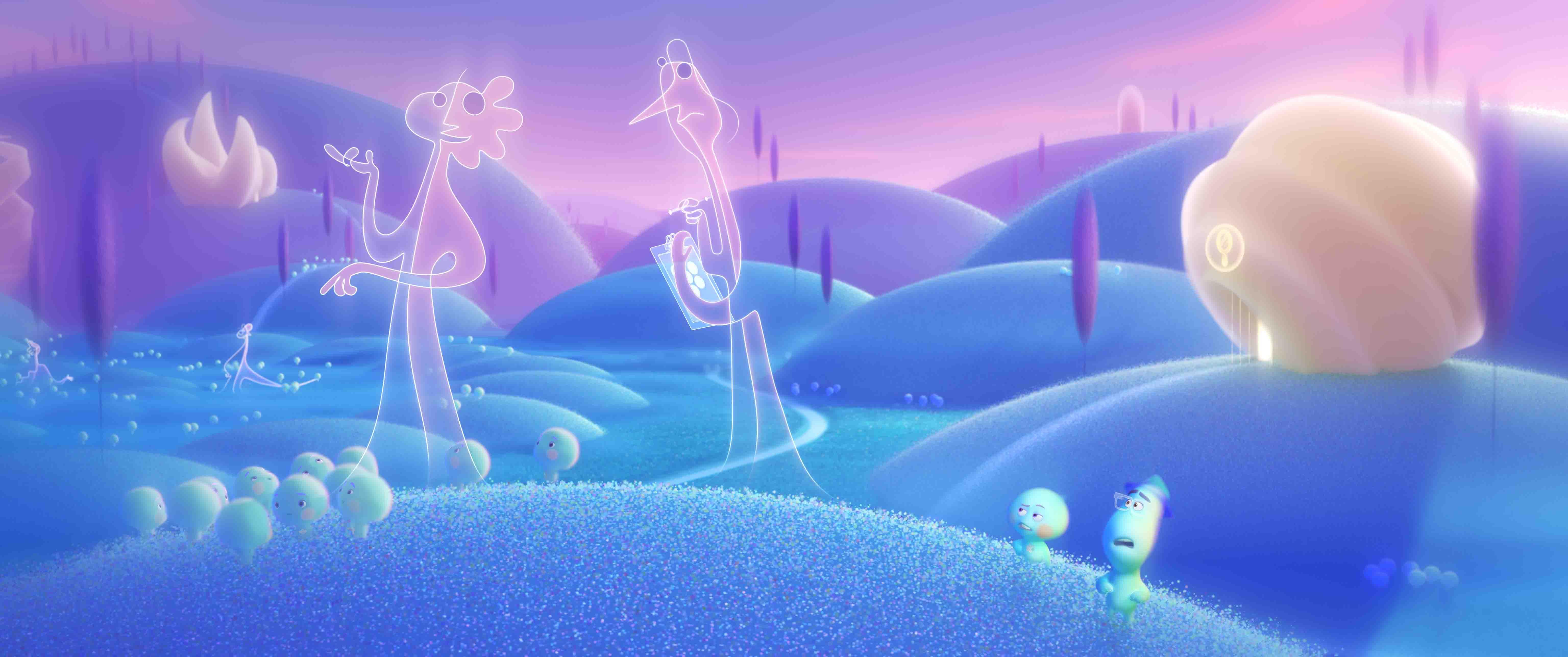 cảnh trong phim hoạt hình soul