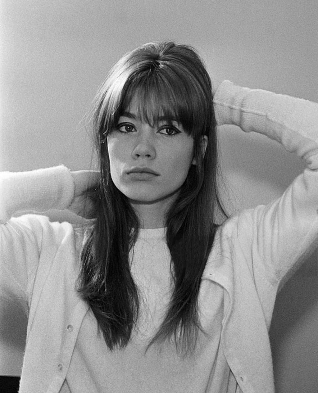 Francois Hardy - kiểu tóc mái những năm 60