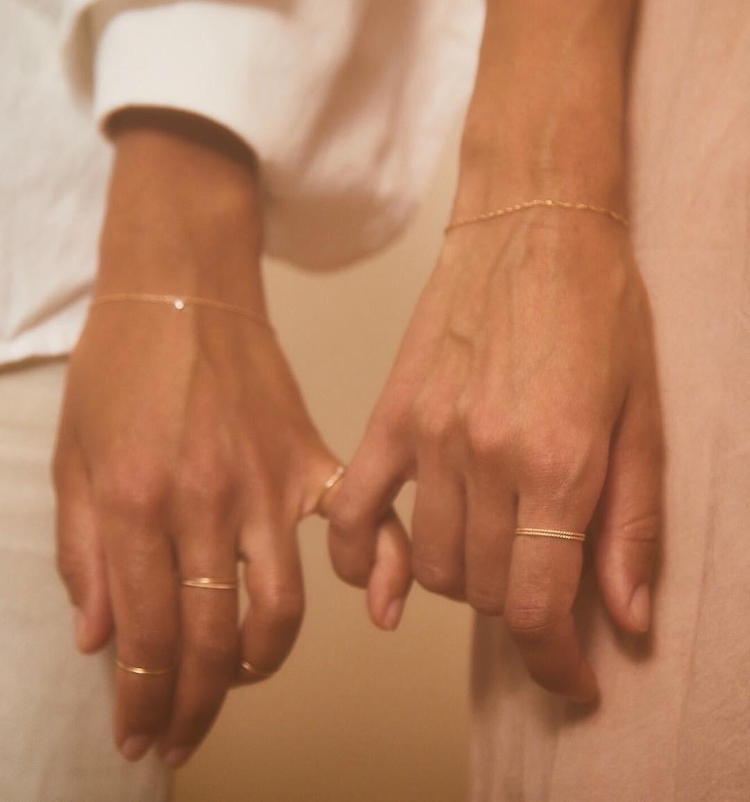 nhẫn đôi aesthetic