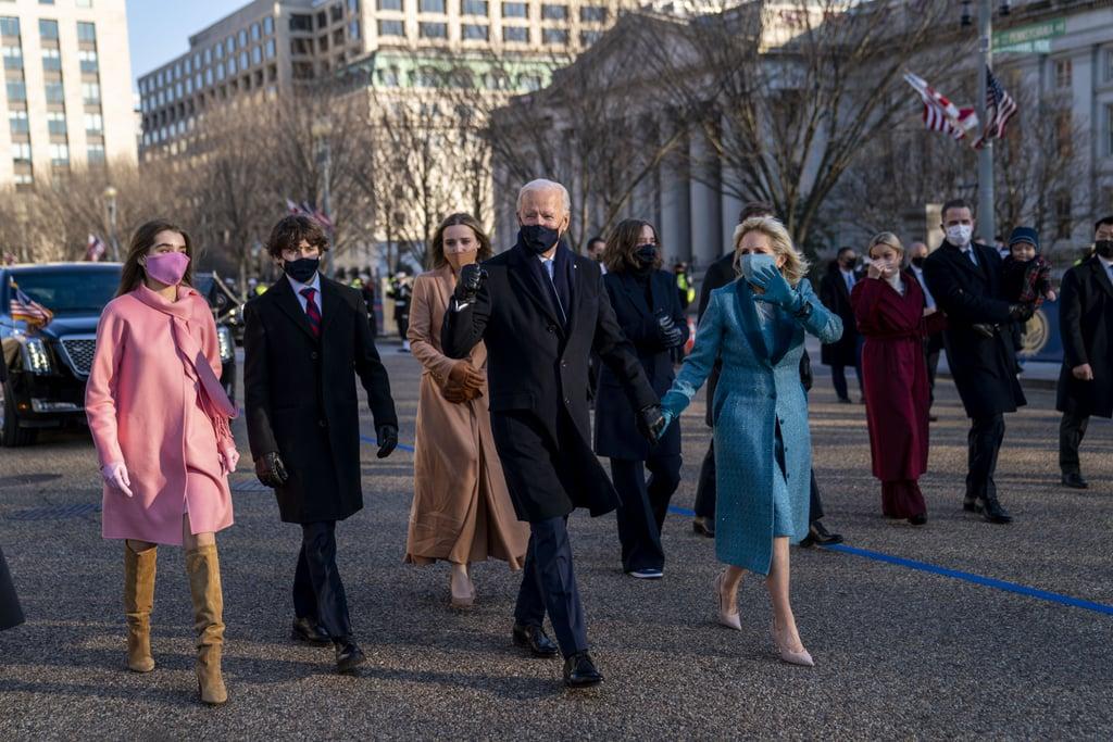 thời trang lễ nhậm chức tổng thống mỹ các cháu gái biden