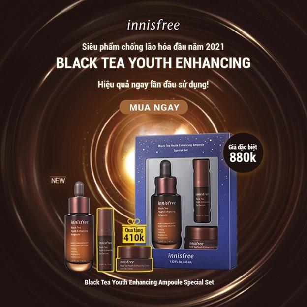 innisfree trà đen