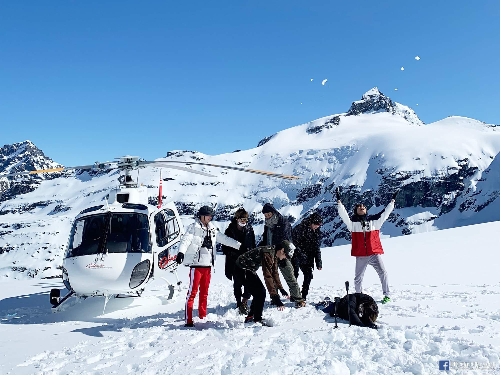 chương trình du lịch BTS's Bon Voyage - BTS Diary