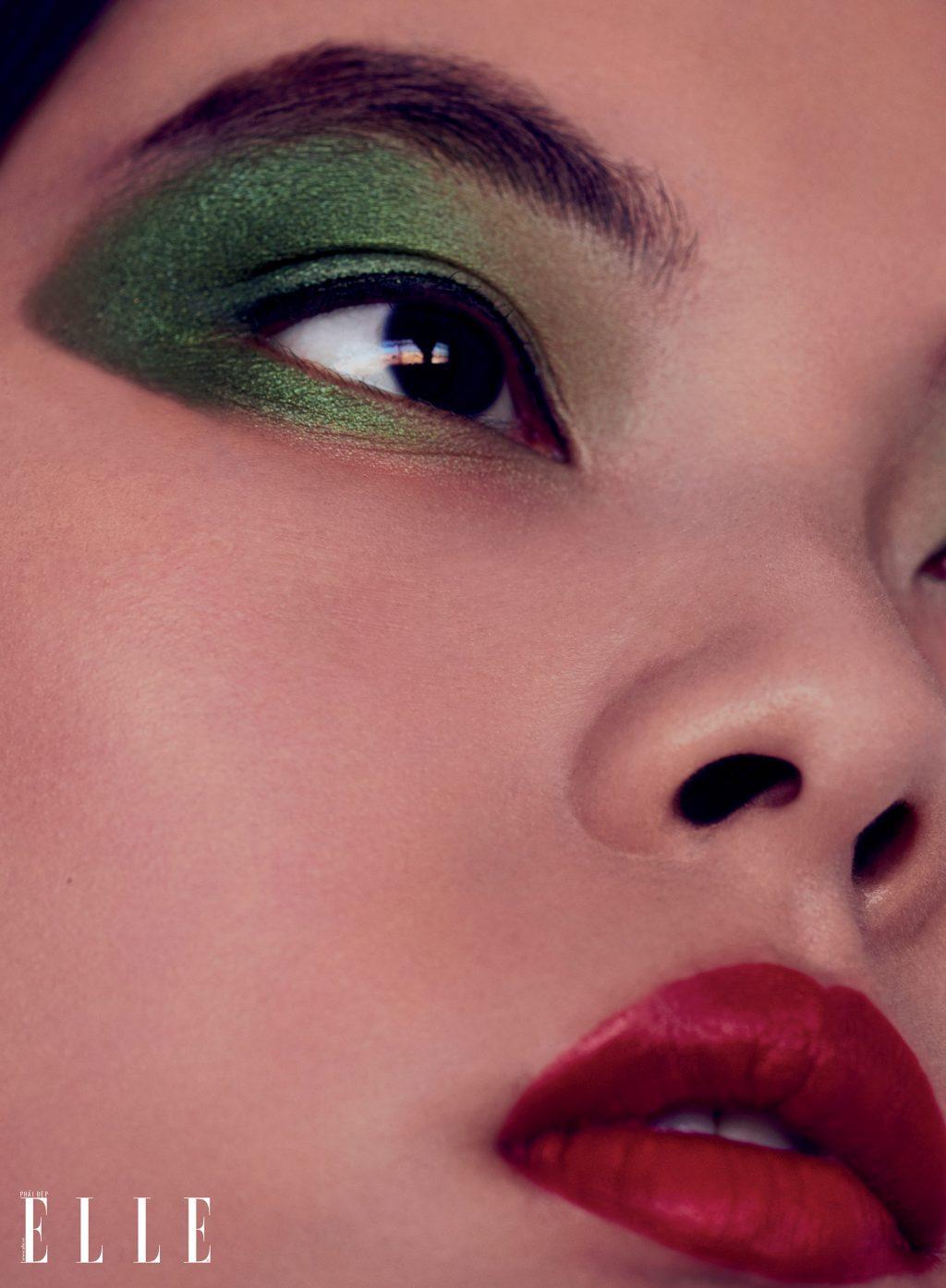 Trang điểm mắt màu sắc