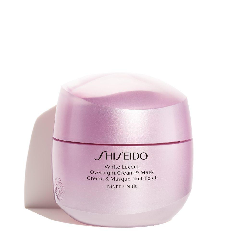 Dưỡng da ban đêm cùng Mặt nạ ngủ Shiseido Overnight