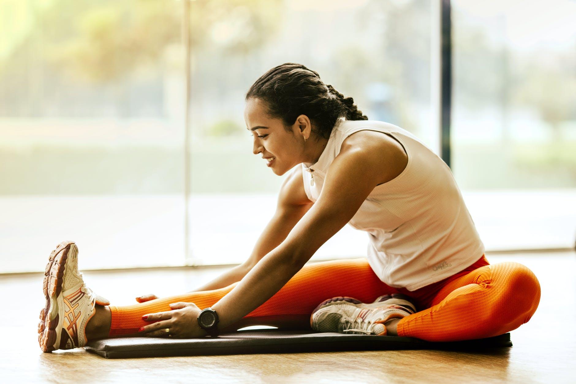 Tập thể dục với những bài tập đơn giản