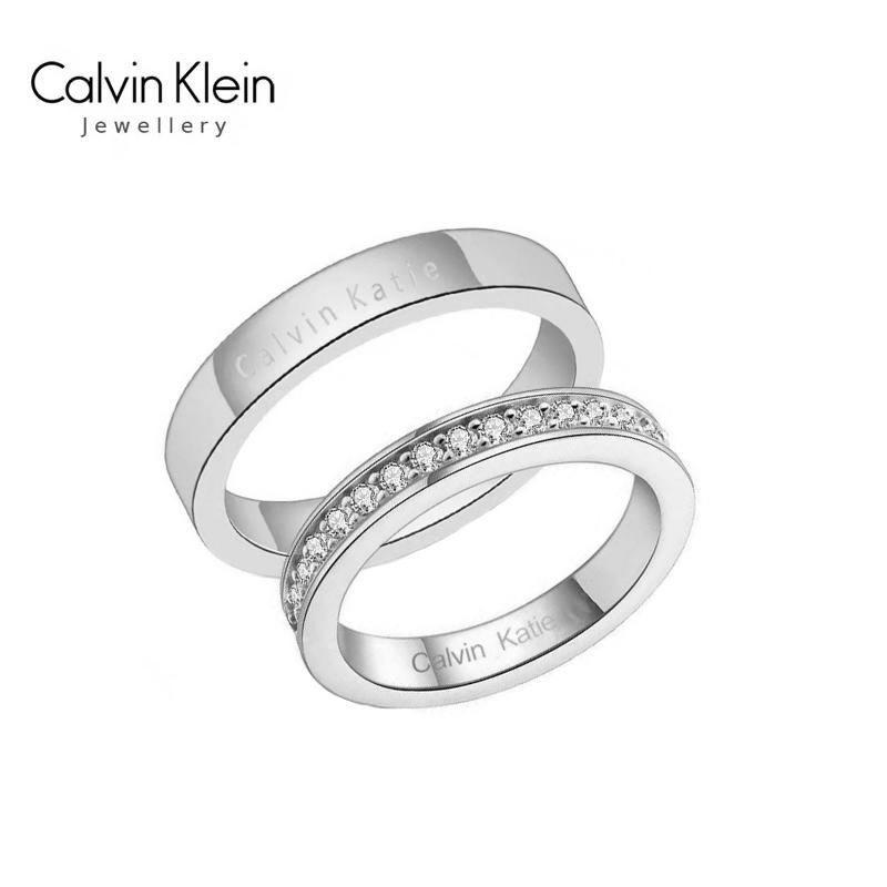 nhẫn đôi Calvin Klein