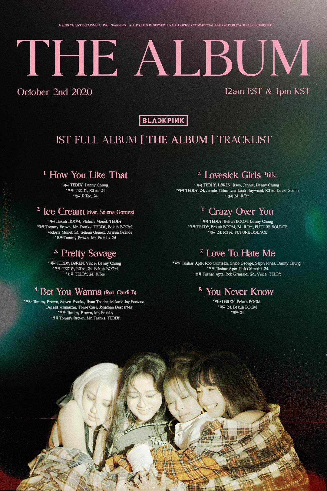 Jisoo BlackPink The Album
