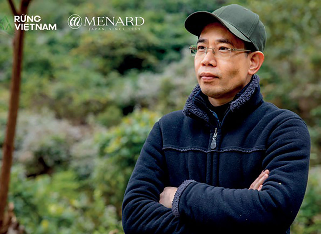rừng Việt Nam bảo tồn bởi Menard