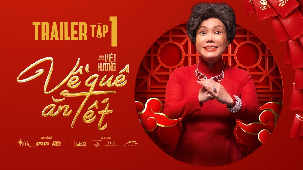 phim tết về quê ăn tết web-drama của Việt Hương