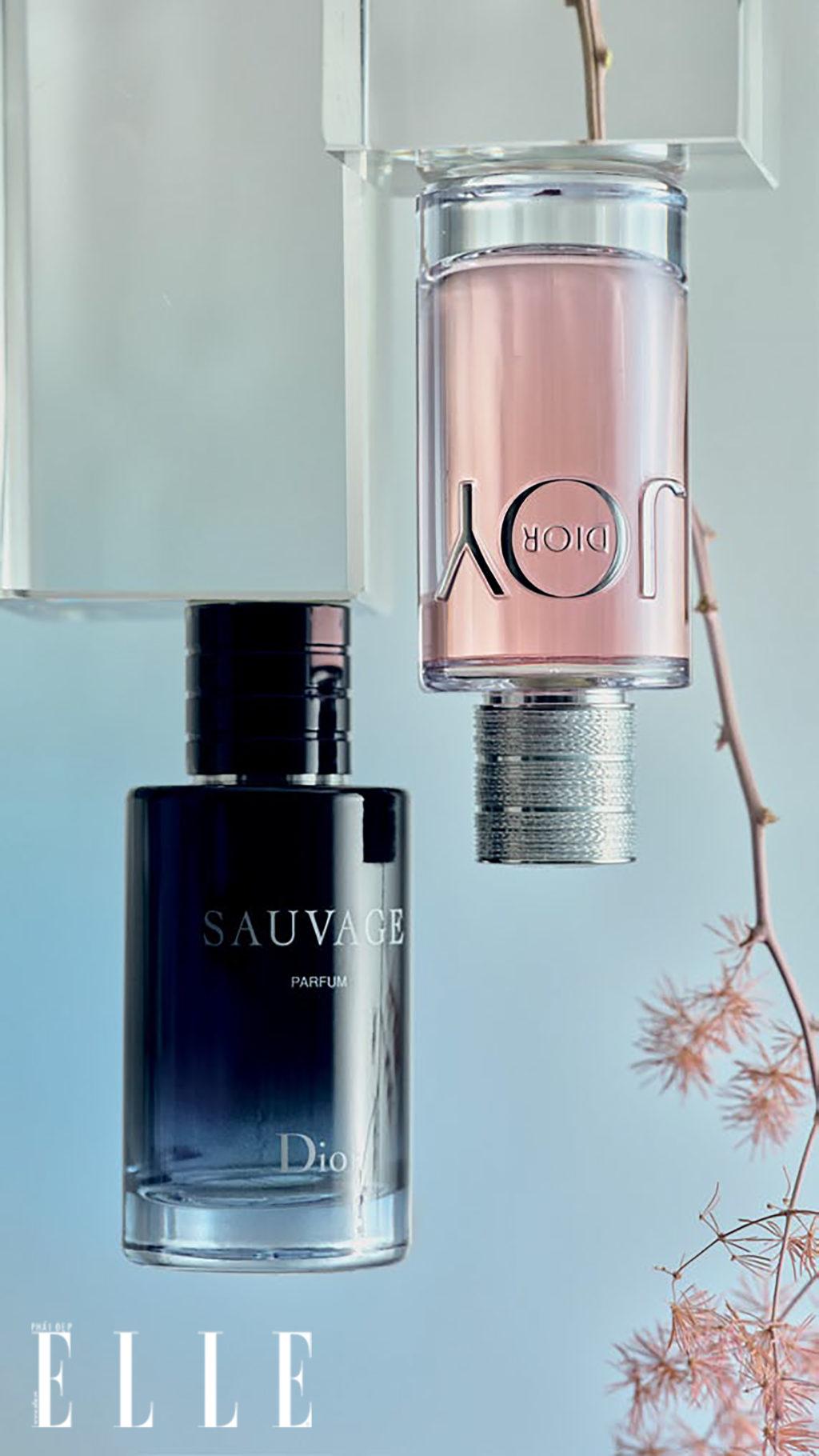 mùi hương đôi của thương hiệu Dior