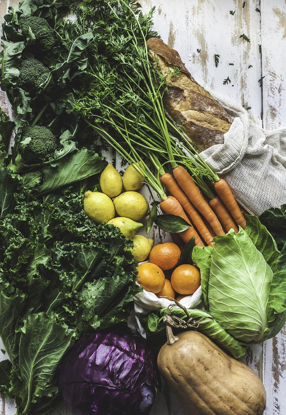 Rau củ là thực phẩm giúp ngăn ngừa lão hóa