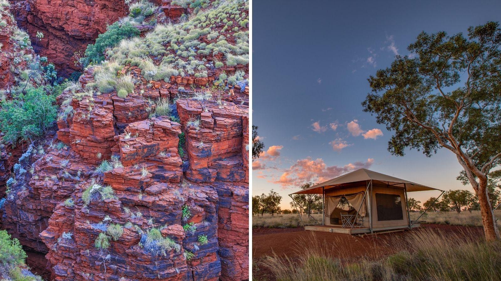 cảnh quan du lịch đẹp như tranh của Karijini Australia
