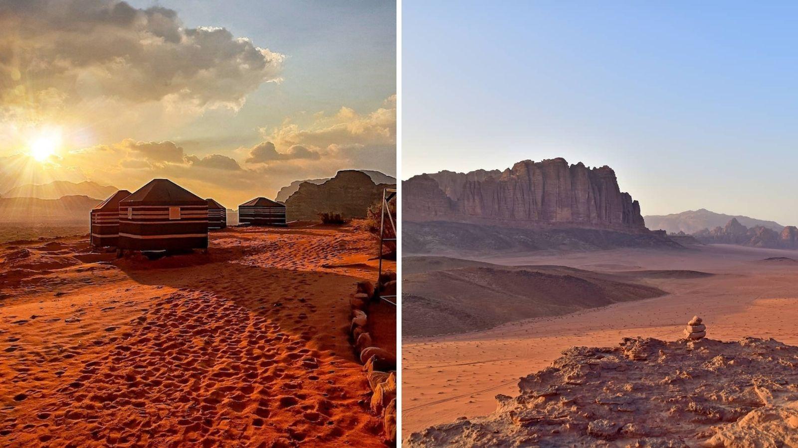 du lịch sao Hỏa ngay tại Wadi Rum Jordan