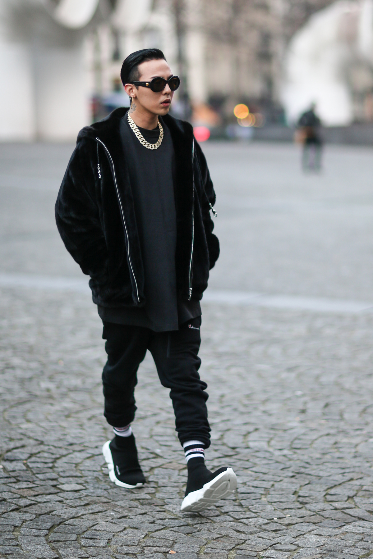 g dragon streetstyle all black