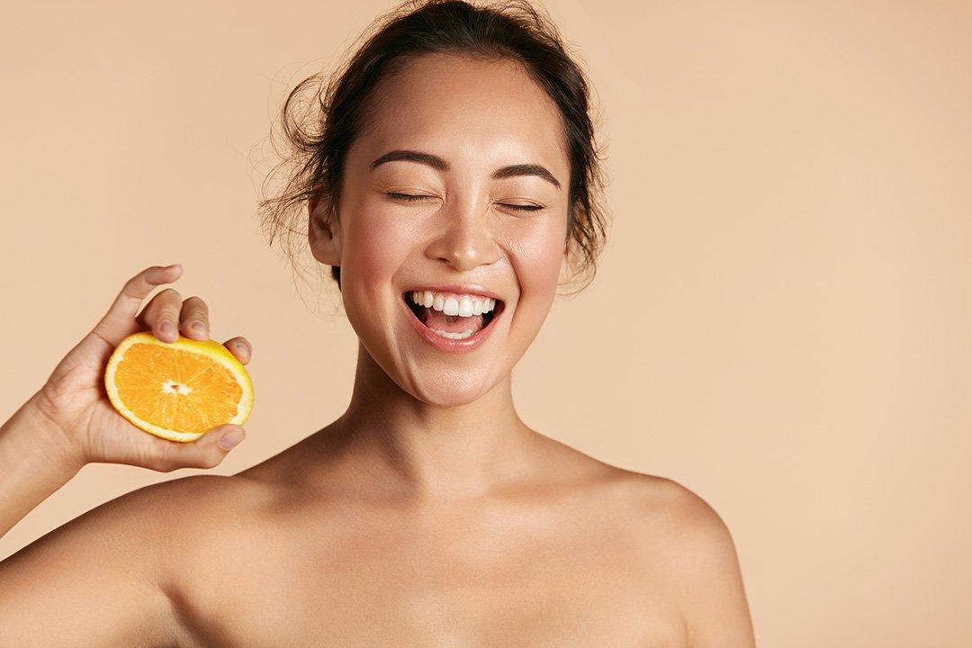 Chăm sóc da với vitamin C