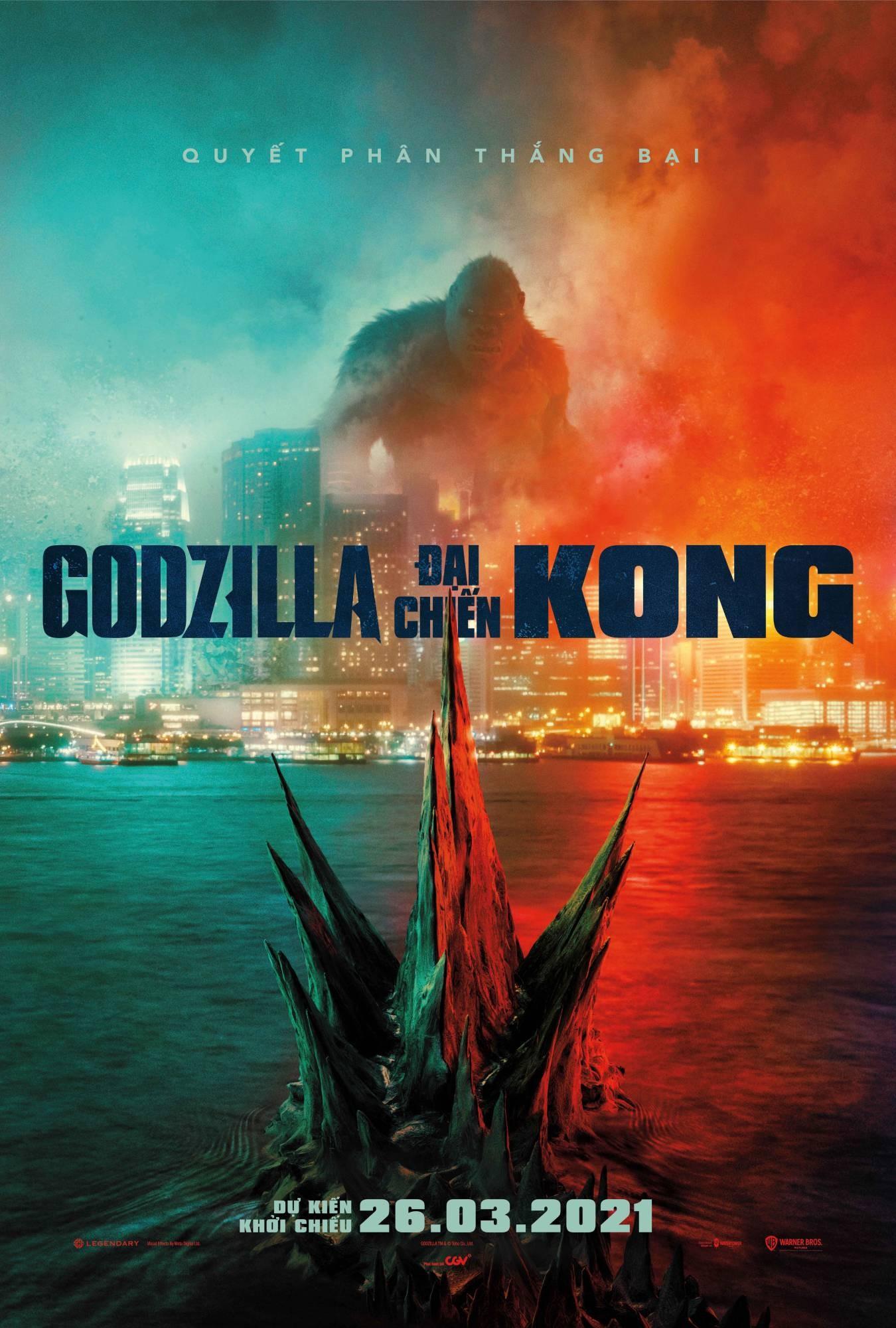 phim chiếu rạp Godzila vs Kong