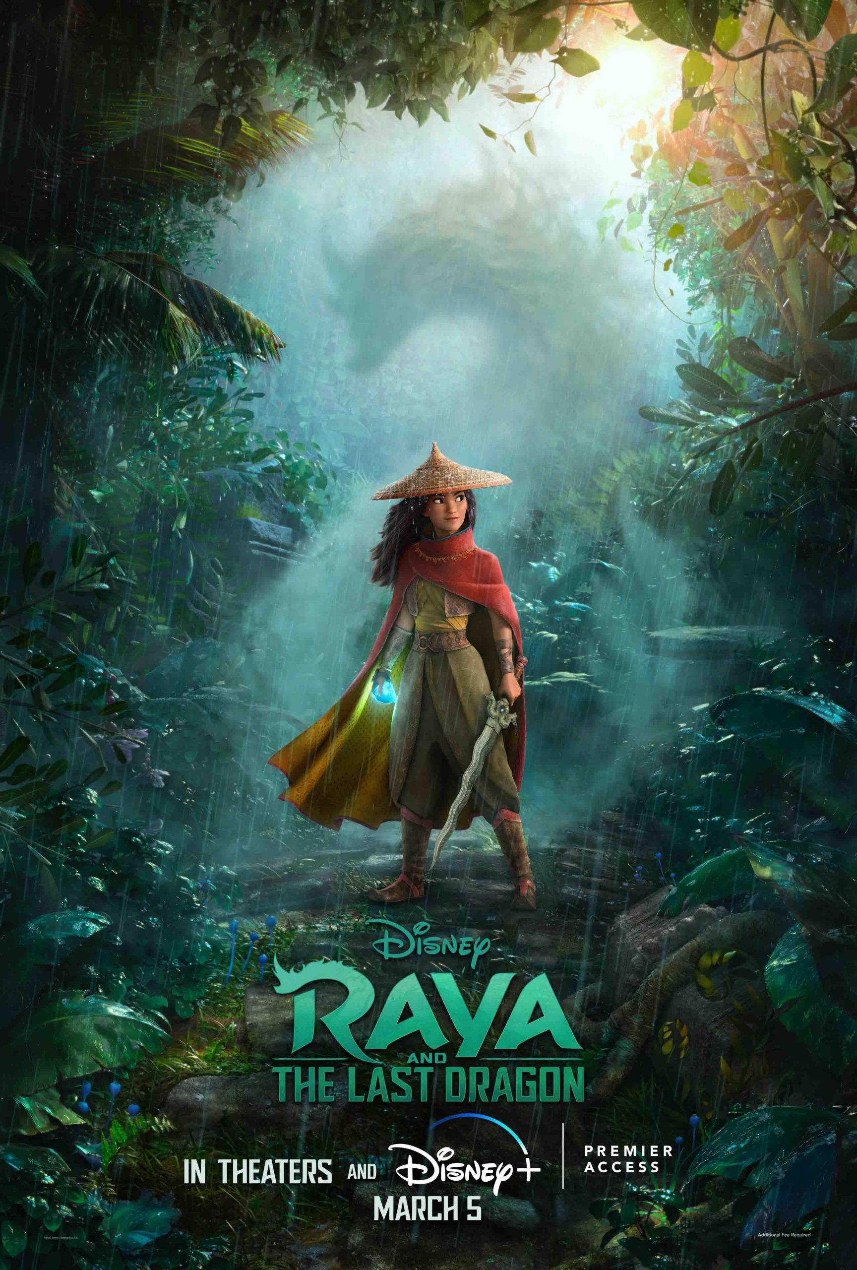 phim chiếu rạp Raya và rồng thần cuối cùng