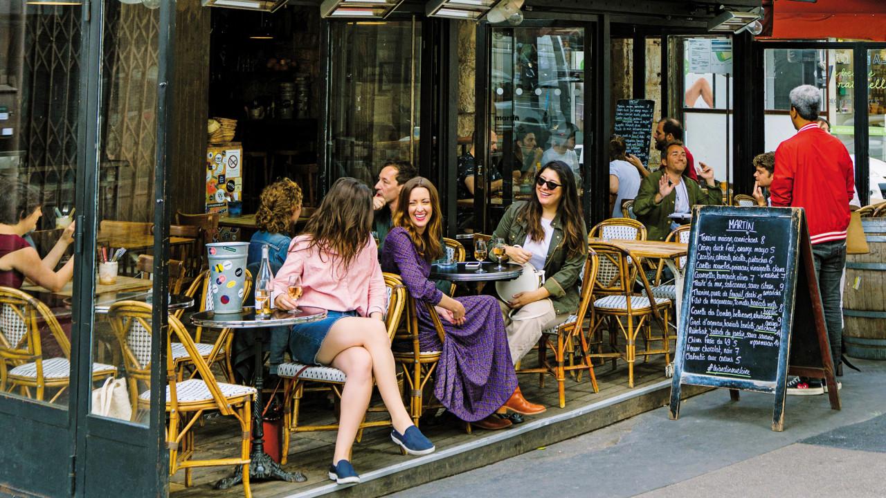 phong cách sống của người Pháp ở Paris