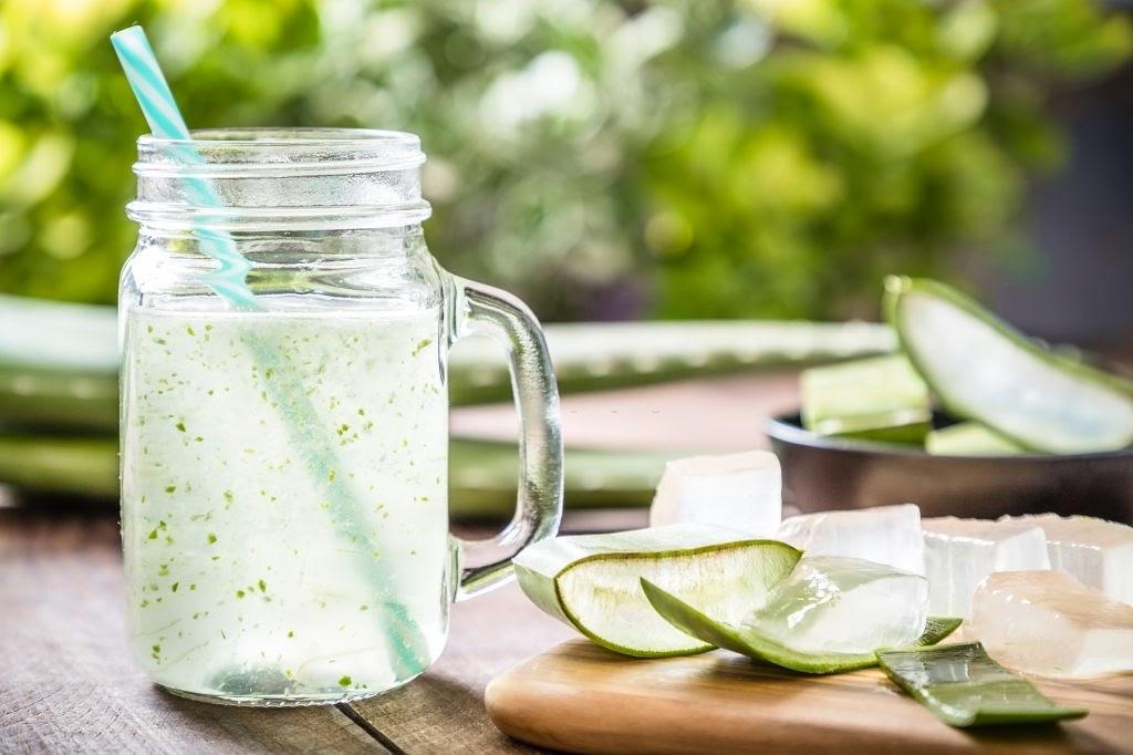 Nước nha đam giúp giải nhiệt tốt cho sức khỏe