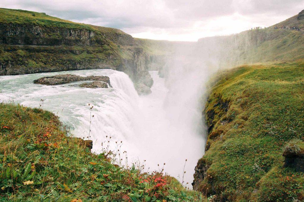 Hình ảnh đẹp của thác Gullfoss