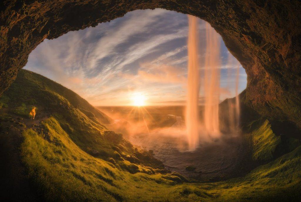 hình ảnh đẹp của thác seljalandsfoss