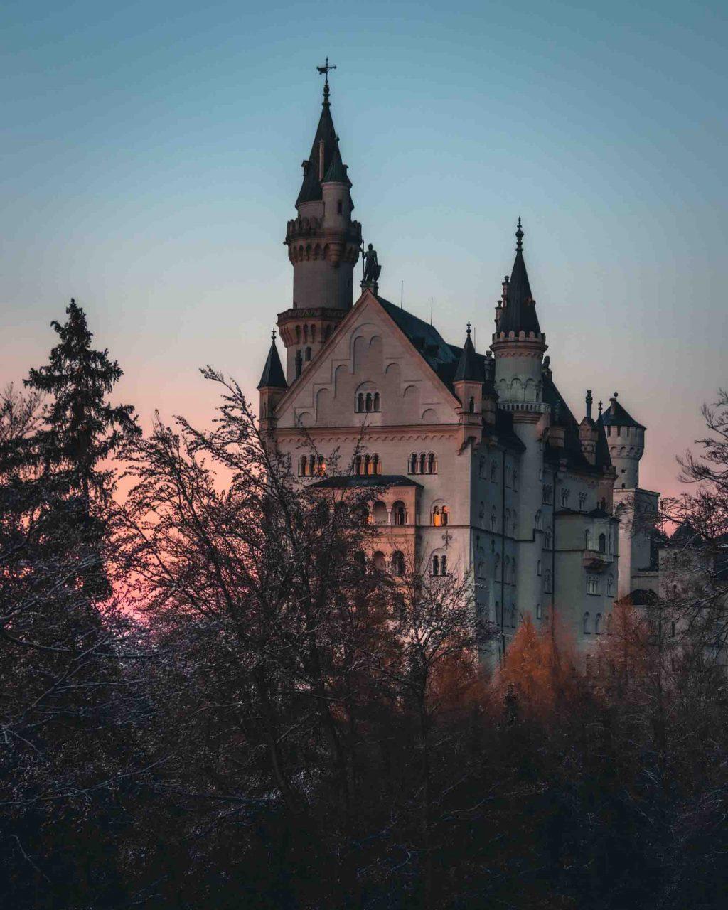 hình ảnh đẹp của lâu đài Neuschwanstein