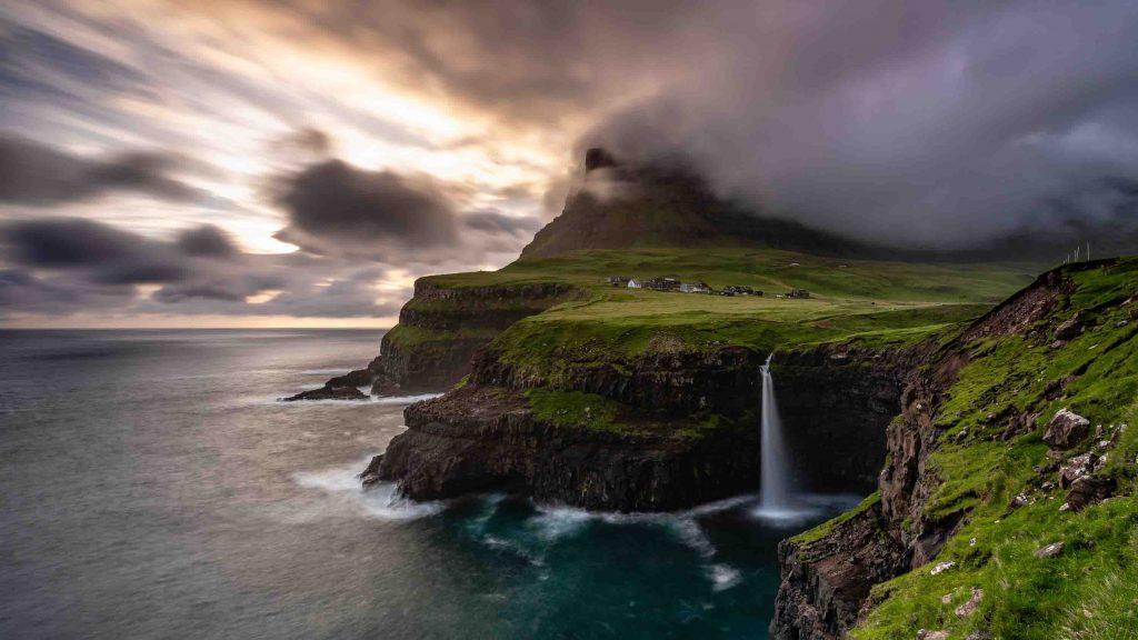 hình ảnh đẹp của đảo Vagar