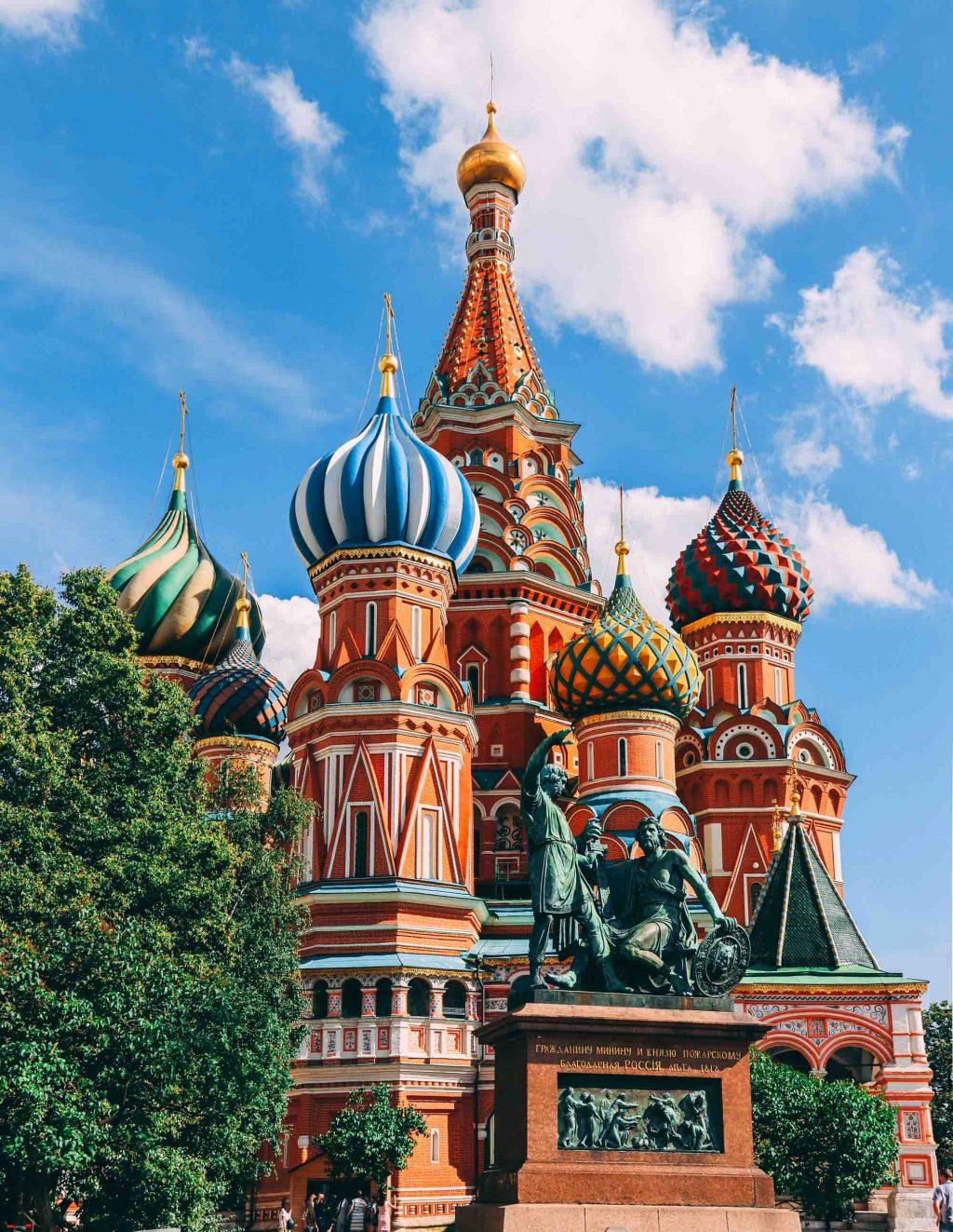 hình ảnh đẹp nhà thờ Basil