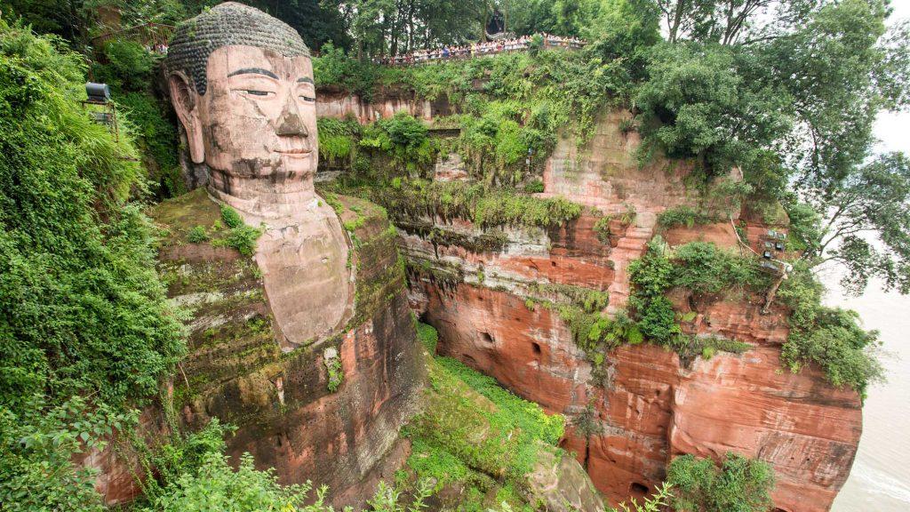 Hình ảnh đẹp của Lạc Sơn Đại Phật, Trung Quốc