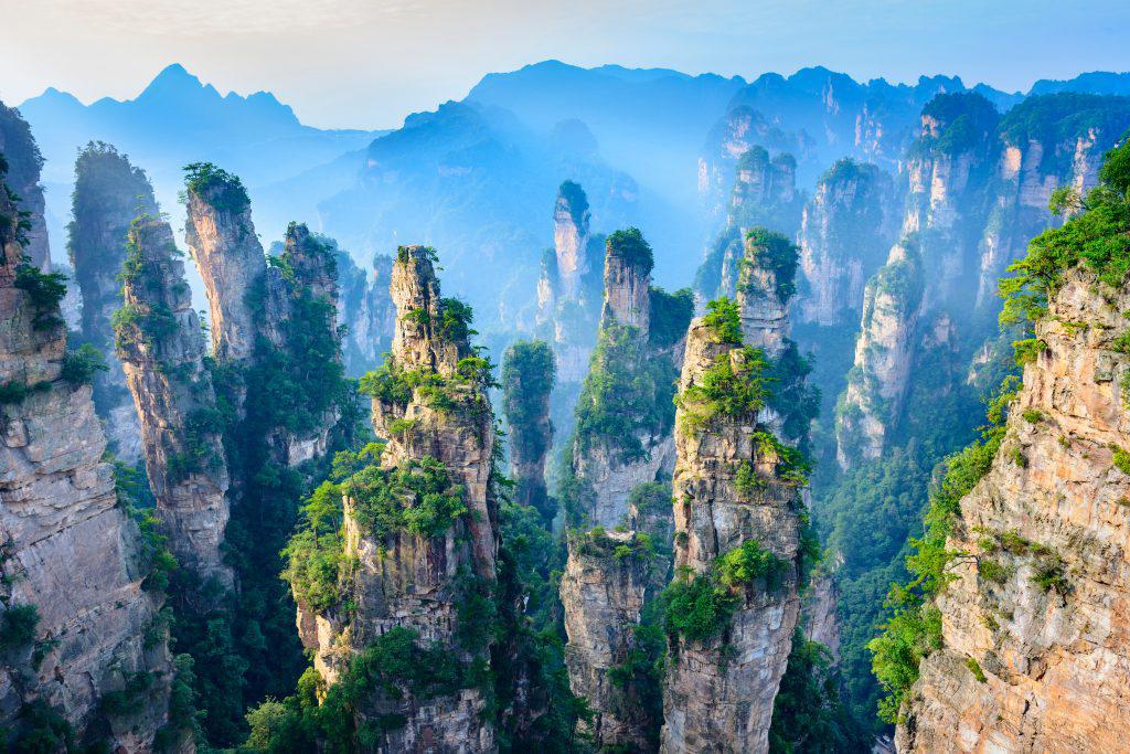 Hình ảnh đẹp của vườn quốc gia Trương Gia Giới, Trung Quốc