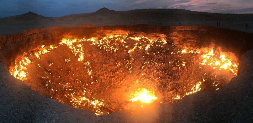Hình ảnh đẹp của Cánh cổng địa ngục Turkmenistan