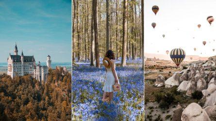 Choáng ngợp trước những hình ảnh đẹp đến siêu thực của 15 địa điểm nổi tiếng thế giới