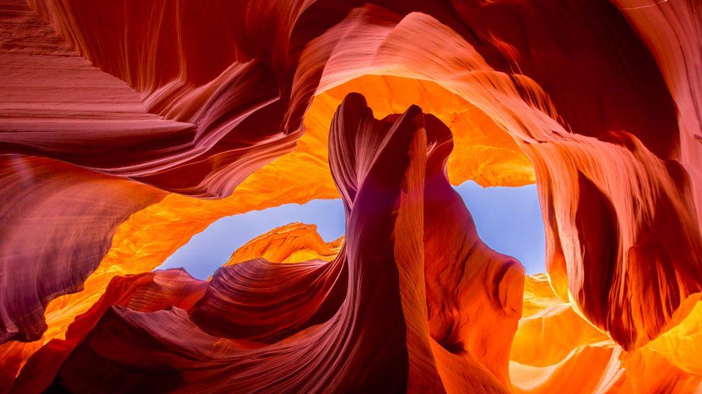 Hình ảnh đẹp của Antelope Canyon