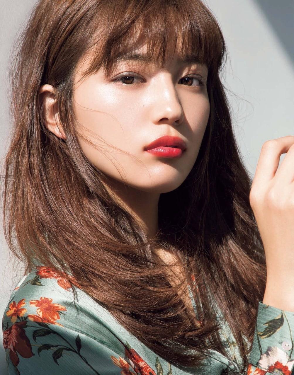 haruna kawaguchi trang điểm đẹp