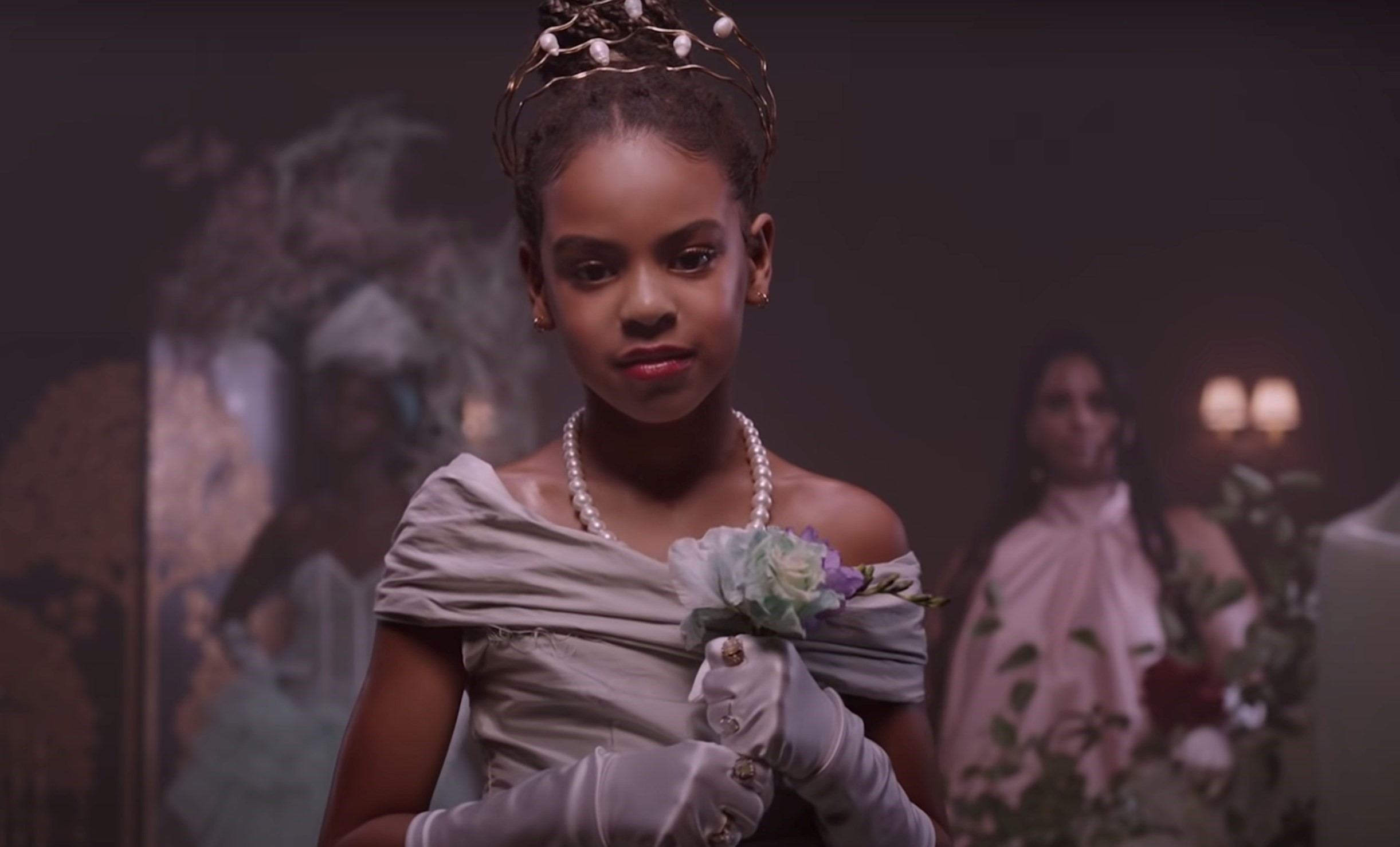 blue ivy con gái beyonce chiến thắng Grammy 2021