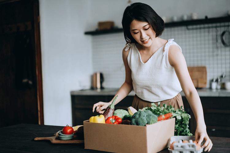 Bổ sung những thực phẩm lành mạnh cho da khô