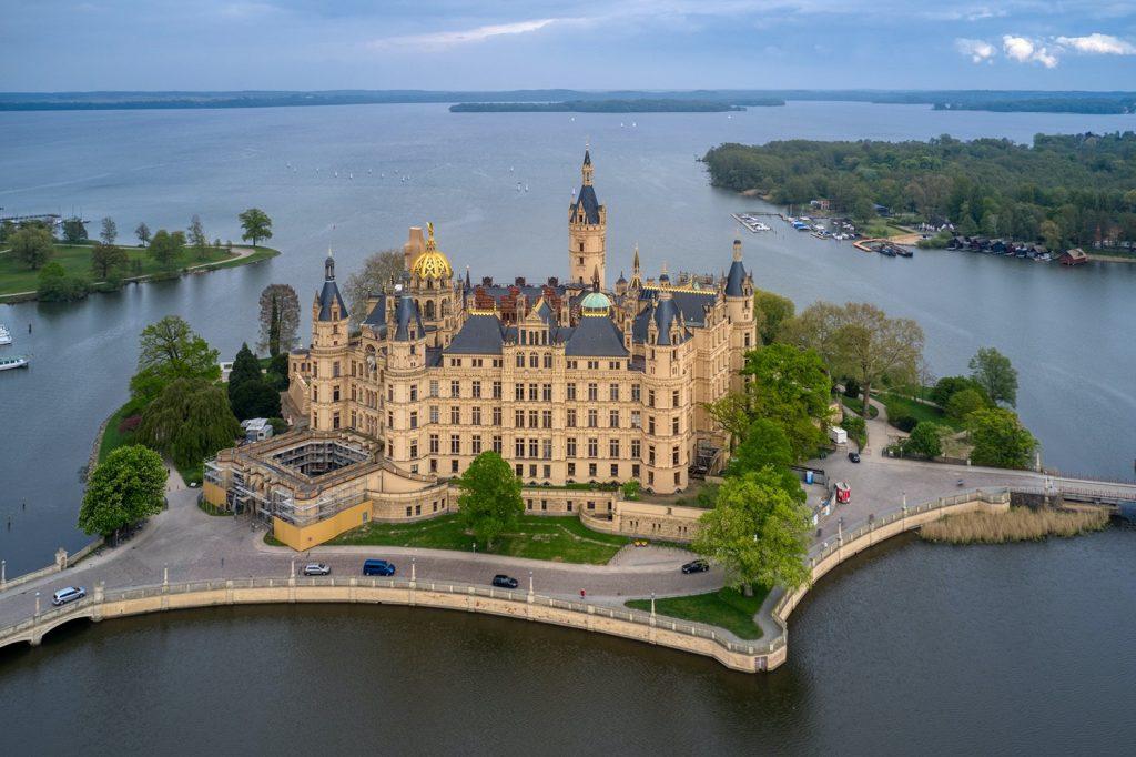 Schwerin thành phố cổ tích của nước Đức và Châu Âu