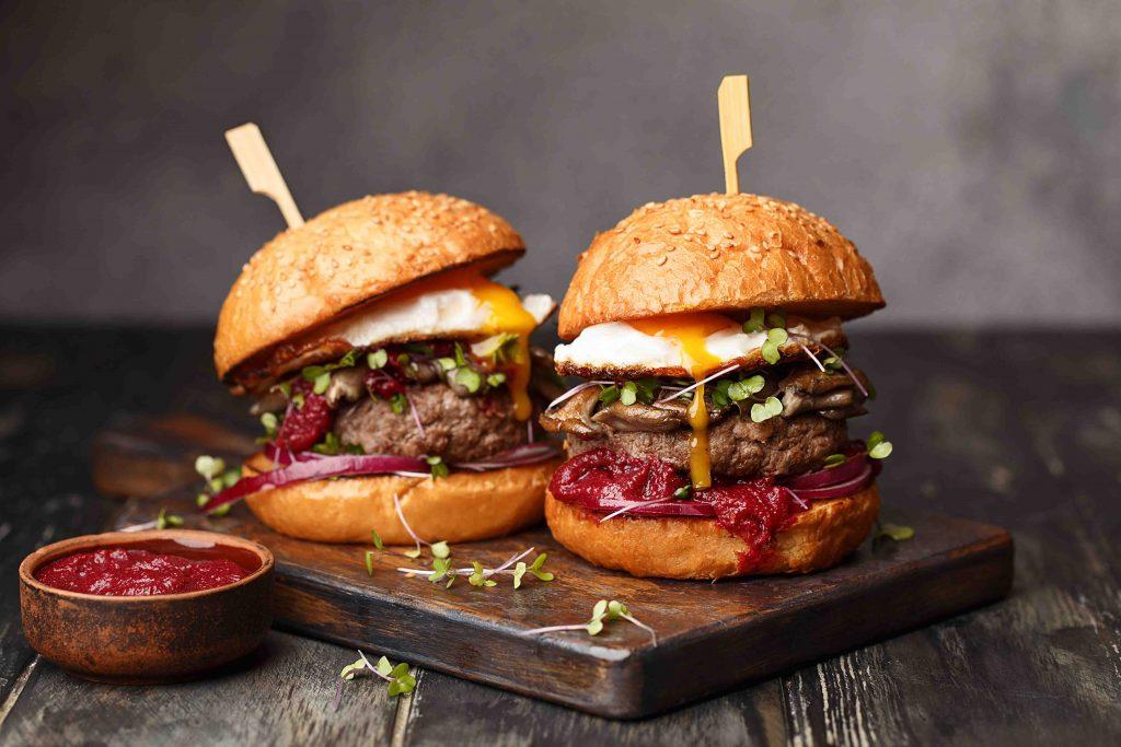 chương trình khuyến mãi bánh mì burger