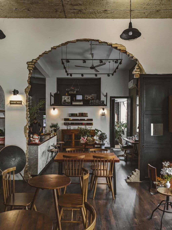 địa điểm cà phê tay mơ space