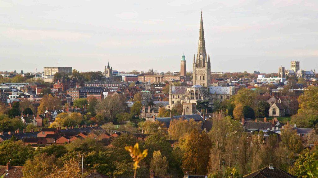 thành phố châu Âu Norwich