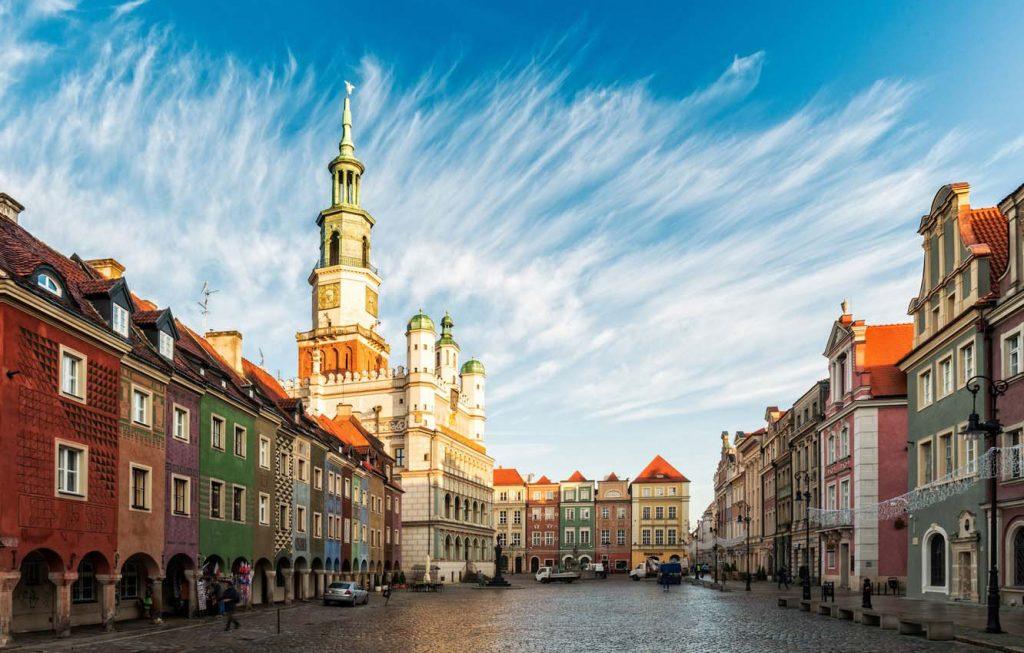 thành phố châu Âu Poznan