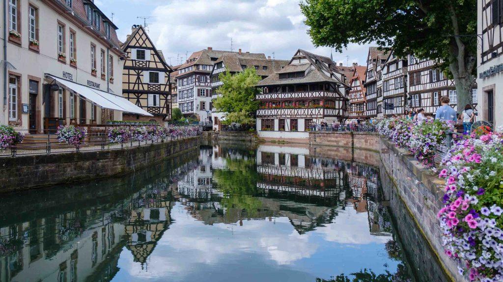 thành phố châu Âu Strasbourg