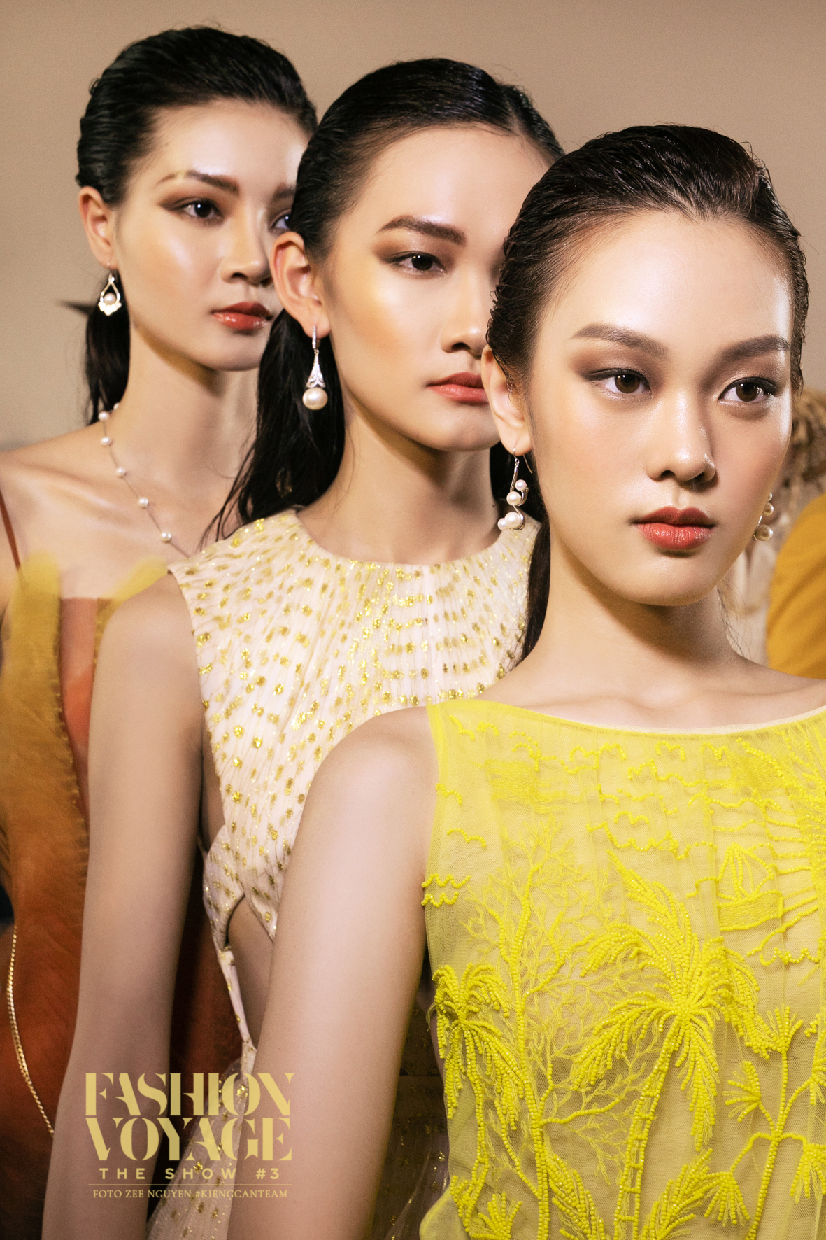 Layout makeup của Fashion Voyage The Show