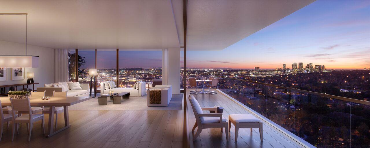 view đẹp của căn hộ cao cấp triệu đô