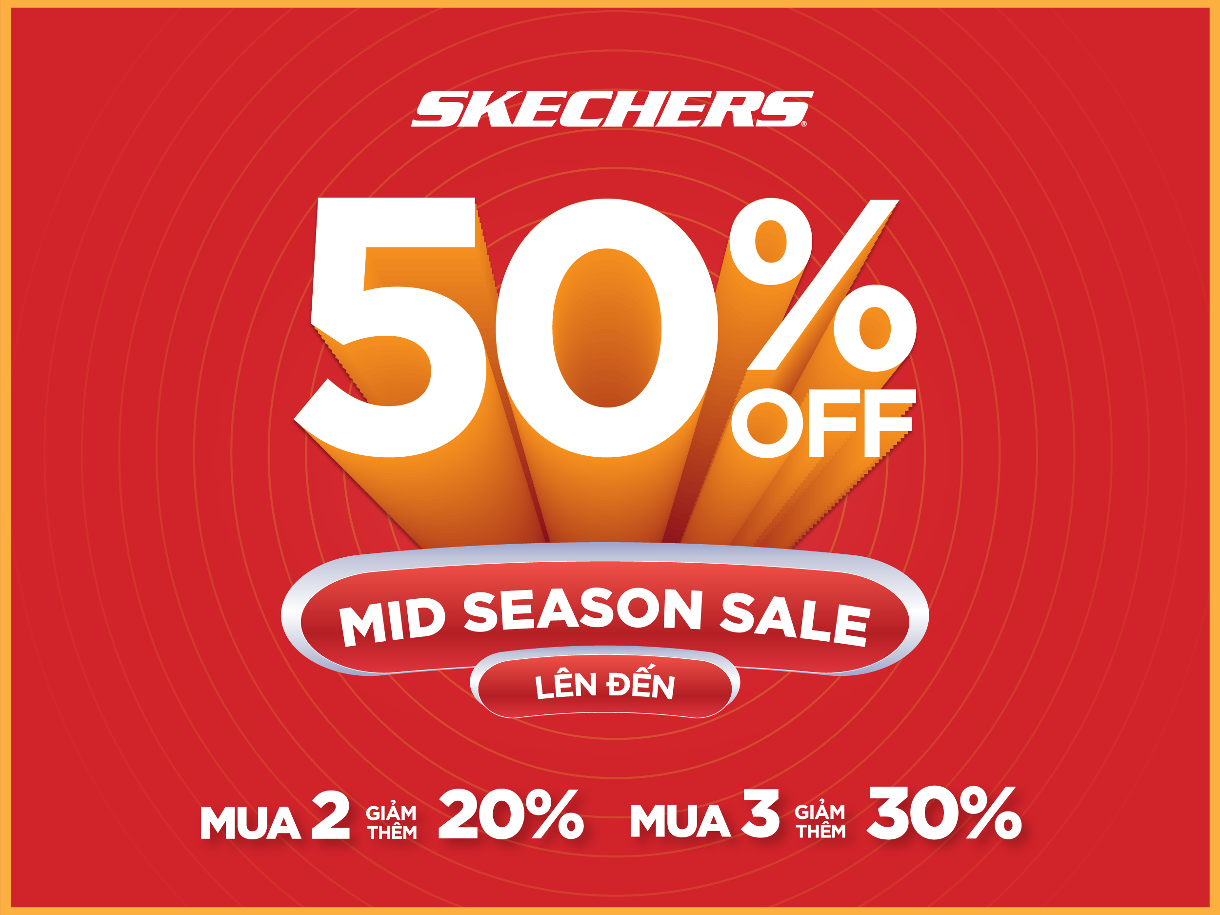 skechers ưu đãi 50%