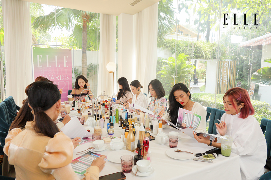 elle beauty awards 2021 beauty blogger