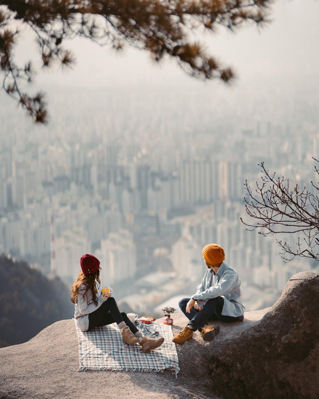 cặp đôi có tình yêu dành cho du lịch