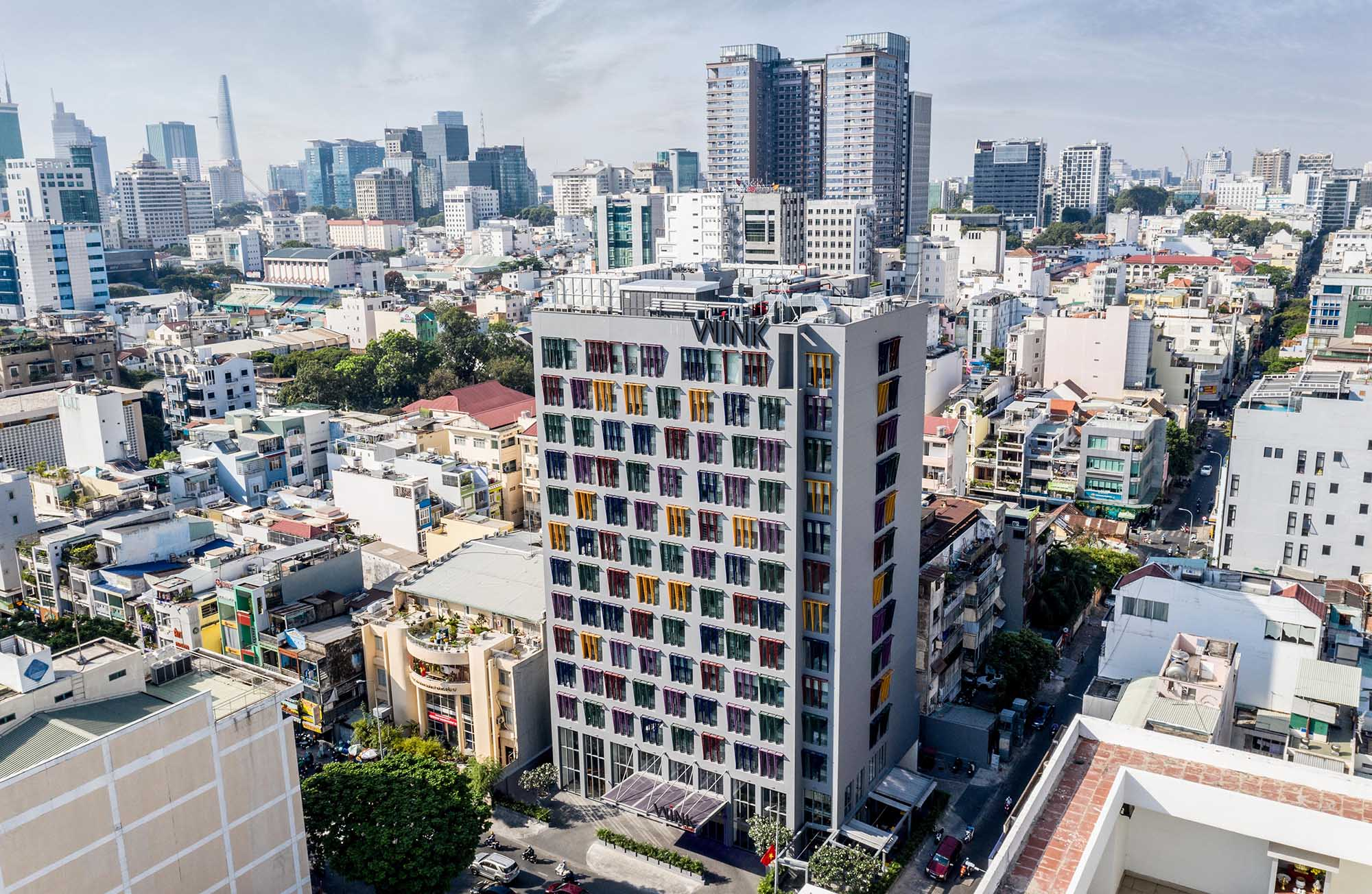 Khách sạn Wink Hotel Saigon Centre